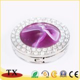 宝石およびダイヤモンドが付いている袋のホックのためのFoldable金属袋のハンガー