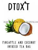 カスタマイズされたブランドのDtox'tの14日間の減量の解毒の茶ココナッツ及びパイナップル注入