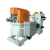 Alimentador de impressão automático de folha metálica com alisador e desbobinador