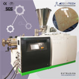 밀어남 선을 만드는 PVC 투명하거나 반투명 비닐 마루 또는 장 또는 위원회 또는 널 Exruder 모조 대리석 생산 Extrding
