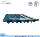Plaque de maxillaire de pièces de rechange de broyeur de maxillaire de Minyu Ms-3020 d'acier de manganèse
