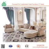 Mobília de couro macia secional moderna nova do sofá de Italy