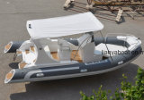 Liya 5.8m bateau ponton gonflable Cheap bateau en fibre de verre