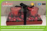 يدهن رفاهيّة زخرفيّة هبة شمعة زجاجيّة لأنّ عيد ميلاد المسيح
