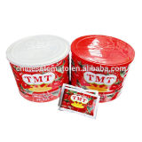 Свежий красный затир томата Brix Ketchup 28-30%