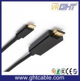 USB 3.1 типа C к разъему адаптера HDMI кабель HDTV