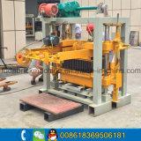Máquina manual pequena do bloco de Qt40-2 Cabro/preço concreto da máquina do tijolo contínuo