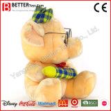 Kundenspezifisches Qualitäts-weiches Spielzeug angefülltes Schwein für Kinder