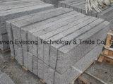 Venda por grosso fábrica na China Estrada Natural paliçada de granito com superfície colhidas em bruto