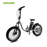 750W Bafangモーターを搭載する浜様式の雪の電気バイク
