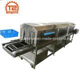 Моющее машинаа шайбы клети плиты коробки корзины автоматического пара Heated пластичное