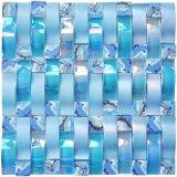 Mosaico di vetro di cristallo del mosaico di figura quadrata variopinta