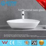 Тазик санитарного Countertop изделий дешевого керамический