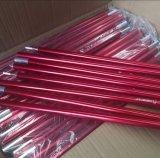 Tenda d'anodizzazione rossa Palo di colore di specifica su ordinazione