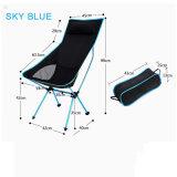 枕はスカイブルーの月の折りたたみ椅子を延ばす