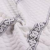 Fornire il tessuto lavorato a maglia notevole del jacquard per il materasso e cuscino e coperta