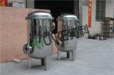 des Flansch-10t-100t Beutelfilter-Gehäuse der Wasserbehandlung-SS304