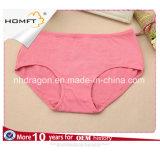 Pantaloni a vita bassa poco costosi Panty del cotone delle ragazze della fabbrica delle signore all'ingrosso di colore solido