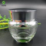 [50غ] [30غ] [20غ] [15غ] زجاجيّة مستحضر تجميل مرطبان