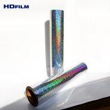 20 22 Mic Mic holográfico de Pet película metalizada