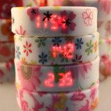 Especiales de impresión LED Digital de regalo de la correa de reloj pulsera para promoción