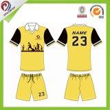 Dreamfoxのスポーツの摩耗の習慣によって昇華させるチームワイシャツのサッカージャージー