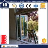 Do frame de alumínio comercial novo do sistema do projeto de China porta deDobramento