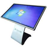 55'' IR Multi Touch tous les PC de bureau dans un kiosque à l'intérieur