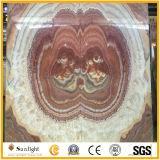 Color de rosa del emparejamiento de libro/Onyx de Brown para los azulejos y Wall&Countertop