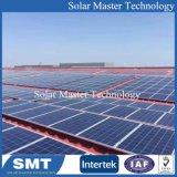 1kw 태양 가정 지붕 설치 시스템 PV 도와 서 있는 죔쇠 태양 기와 지붕 솔기 죔쇠를 위한 조정가능한 죔쇠 부류