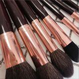 新しい方法8PCS木のハンドルのヤギの毛の化粧品のブラシ