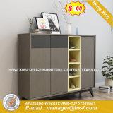 チェリーのLacqureの高く光沢のある管理表の木のオフィス用家具(HX-8ND9236)