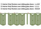 Janela de plantação de PVC de vinil decorativos Venezianas (WPPWS série)