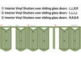 Декоративные штарки плантации PVC винила (СЕРИИ WPPWS)