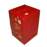 Le carton ondulé recyclé boîtes d'expédition d'emballage de papier personnalisés avec poignée