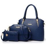 2018 nuova 3 parti borsa dei sacchetti delle signore della signora Fashion Handbag Leather Set