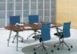 Último en diseño de mobiliario de oficina de la Conferencia mesa rectangular de Madera Precio (SZ-MTT089)