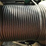 6X19+FC Câble en acier inoxydable, acier câble métallique