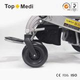 Sedia a rotelle elettrica piegante di potere Handicapped del mini peso leggero dello SGS del Ce