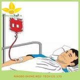 Krankenhaus-Wegwerfdoppelter Blut-Plastikbeutel