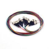 lle trecce ottiche Multi-Colored multimodi della 50/125 di fibra di 12core St/Upc