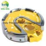 As peças de usinagem CNC personalizado para motociclo tampa do trancamento eléctrico das portas