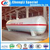 50cbm LPGタンクLPGガスの貯蔵タンク50000Lは中国専門のChengliの工場からの地上タンクブタンのガスタンクの給油所タンクの上のガスLPGのためのシリンダーを空ける