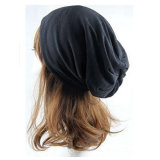100% Coton tricoté Slouchy Beanie Hat