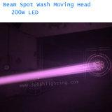 De Lichte 200W LEIDENE van de straal Bewegende HoofdStraal van de Was