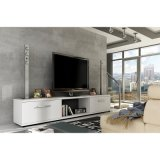 Elegante blanco Muebles de Salón Soporte de TV Venta caliente