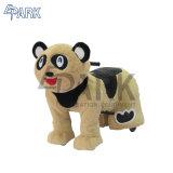 Les jouets en peluche animal marche Ride avec jeu de pièces de monnaie de la batterie actionné