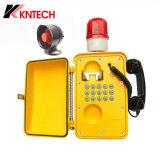 Telefono impermeabile industriale Emergency del telefono Knsp-08 VoIP di Koontech