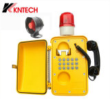 Koontech Emergency industrielles wasserdichtes Telefon des Telefon-Knsp-08 VoIP