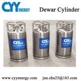cilindro criogenico industriale del Dewar dell'anidride carbonica dell'argon dell'azoto dell'ossigeno liquido 175L